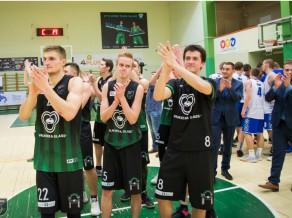 """LBL2: """"Valmiera Glass/Via"""" atspēlējās no -13 un pieveic regulārā čempionāta uzvarētājus"""