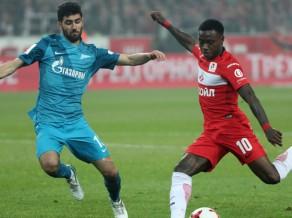 ''Spartak'' pieveic ''Zenit'' un palielina pārsvaru, ''Porto'' zaudē svarīgus punktus