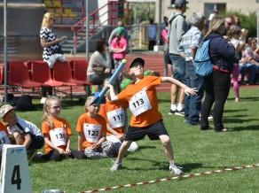 """Valsts prezidenta balvā """"Kids Athletics"""" aktivitātes bērniem"""