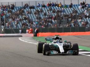 Botass pārspēj Hamiltonu arī otrajā F1 treniņā Silverstounā