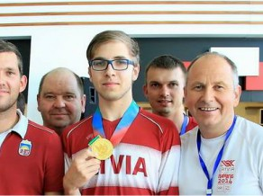 Šāvējs Erbs uzvar junioru Pasaules kausa posmā