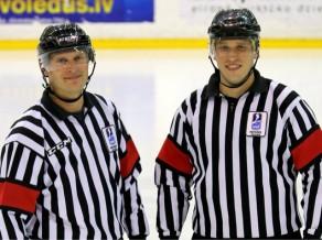 Četriem Latvijas hokeja tiesnešiem piešķirta IIHF A licence