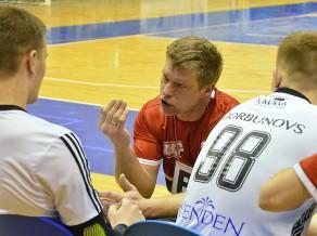 """Uščins: """"Mērķis ir uzvarēt kvalifikācijā, bet uz to jāiet soli pa solim"""""""