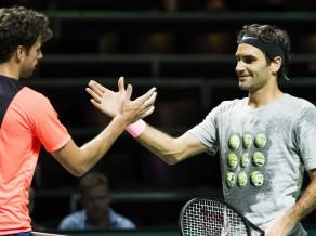 Federers ar uzvaru 47 minūtēs sāk misiju atgriezties ranga virsotnē