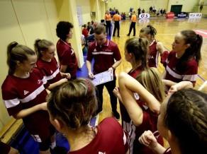 U16 Baltijas kausā kadetēm uzvara, kadetiem - zaudējums