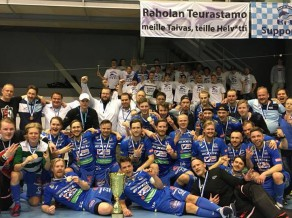 Florbolists Krūmiņš izcīna bronzu Somijas čempionātā