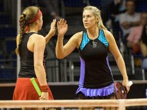 Ostapenko dubultspēļu turnīrā zaudē pagājušā gada titula pāriniecei