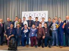Jelgavas pilī apsveikti volejbola sezonas labākie