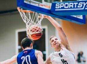 Čempionei Rīgas VEF iespēja jau šovakar iekļūt Latvijas līgas finālā