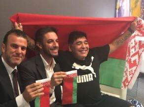 """Maradona strādās Baltkrievijā – noslēgts trīs gadu līgums ar Brestas """"Dynamo"""""""