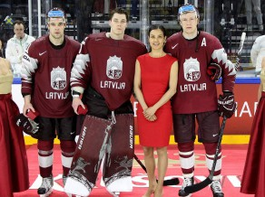 Par labākajiem Latvijas izlasē atzīst Merzļikinu, Sotnieku un Džeriņu