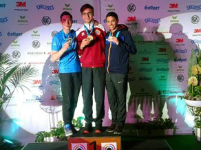 Šāvējs Erbs sagādā Latvijai otro medaļu Pasaules kausa posmā junioriem