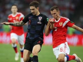 """Horvātijai pusfinālā pret Angliju, ļoti iespējams, jāiztiek bez """"Atletico"""" aizsarga Vrsaļko"""