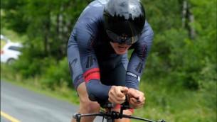 """Video: Skujiņš izcīna trešo vietu """"Tour de Beauce"""" kalnu etapā"""