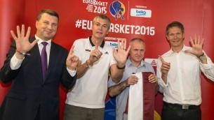 Video: Valsts prezidents vēl Latvijas izlasei panākumus Eiropas čempionātā