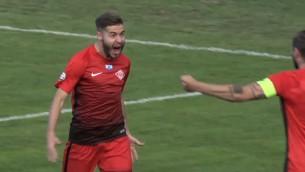"""Video: """"Babīte"""" atkal neiesit pendeli, """"Spartakam"""" minimāla uzvara"""