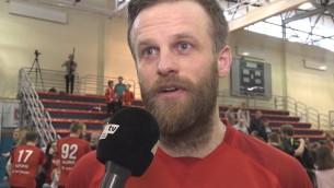 """Video: Belasovs: """"Pēdējo 3 gadu mērķis spēlēt finālā ir piepildijies"""""""