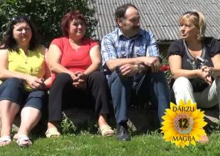 """Video: 12 DĀRZU MAĢIJA. 3. sērija- Dvīņu dārzs"""""""