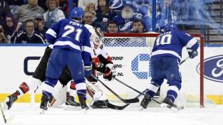 """Millera """"hat-trick"""" neglābj Tampabeju no zaudējuma pret pastarīti """"Senators"""""""