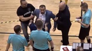 """""""Rabas"""" prezidents Romaņuks līdz nākamajam gadam diskvalificēts no telpu futbola"""