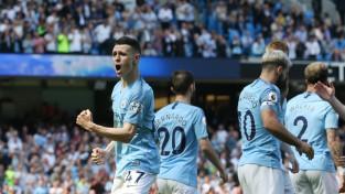 """18 gadus vecais Foudens ar debijas vārtiem atnes """"City"""" uzvaru pār """"Tottenham"""""""