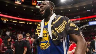 """""""Warriors"""" nonāk soļa attālumā no piektā NBA fināla pēc kārtas"""