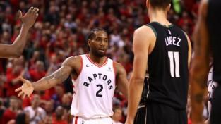 """Ar Lenardu priekšgalā Toronto izslēdz """"Bucks"""" un sasniedz savu pirmo NBA finālu"""