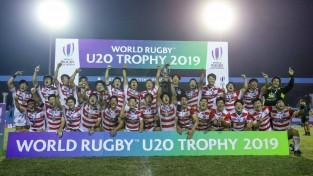 Japānas U20 regbija izlase izcīna tiesības spēlēt elites grupā
