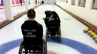 Četru valstu ratiņkērlinga izlases sacentīsies turnīrā Rīgā