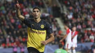 """""""Real"""" piederošais un """"Borussia"""" sezonu pavadījušais Hakīmi varētu pārcelties uz Milānu"""
