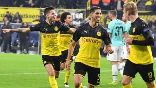 """""""Inter"""" nenotur divu vārtu pārsvaru un zaudē Dortmundei, Liona piesakās uz otro vietu"""