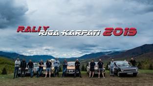 """Dokumentālā piedzīvojumu filma: """"Rallijs Rīga - Karpati 2019"""""""