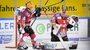 Gudļevskis atvaira 40 metienus, Bičevskis rezultatīvs spēlē pret Jāgru