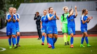 Rīgas Futbola skolas komanda atgūst Latvijas čempiones titulu sieviešu līgā