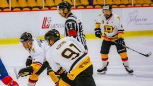"""""""Dinaburgas"""" hokejisti pēc Covid-19 slimības vēl nav gatavi spēlēt, mačs pārcelts"""