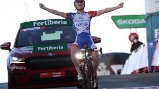 Liepiņš 107. vietā ''Vuelta a Espana'' 17. posmā, uzvar Gaudu
