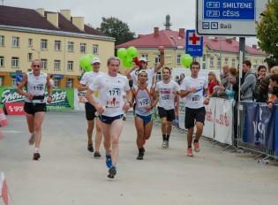 Vidzemes Olimpiskais centrs apbalvos Valmieras maratona kuplākos kolektīvus