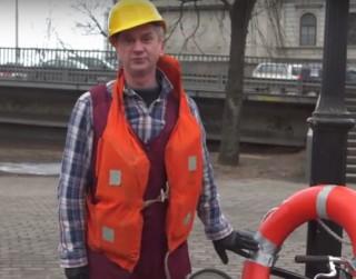 Video: Jānis Skutelis piedāvā drošu veidu, kā šķērsot brūkošo Vanšu tiltu