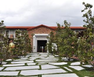 OleAtriuM - olīveļļas vēstures muzejs Turcijā, Kušadasi apgabala Davutlar ciematiņā
