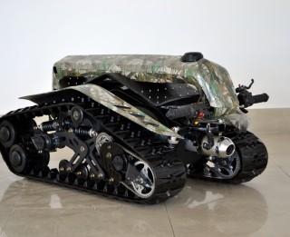 """Ekstrēmais """"DTV Shredder"""",kurš apvieno skrituļdēļa, tanka un visurgājēja labākās īpašības"""