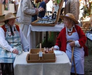 Gadatirgus piparkūku cepēja Emīlija Trankale svin 100 gadu jubileju