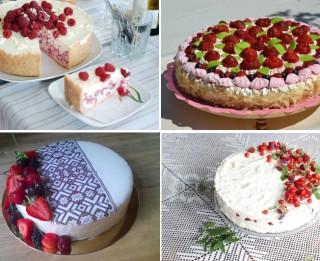 Iedzīvotāji nobalsojuši par mīlētākajām Latvijas kūkām – topā biskvīta un šokolādes kūkas