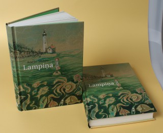"""Klajā nācis nīderlandiešu mākslinieces un rakstnieces Anetes Shāpas romāns jaunajiem lasītājiem """"Lampiņa"""""""