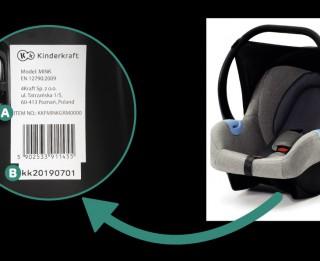 PTAC izplata atsaukumu bērnu autosēdeklītim Kinder Kraft MINK