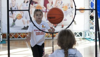 "Foto: ""Sportland pirmie soļi basketbolā"" fināla šarms"