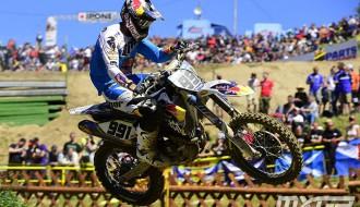 Foto: Pasaules motokrosa čempionātā Čehijā triumfē Febvre un Gilo