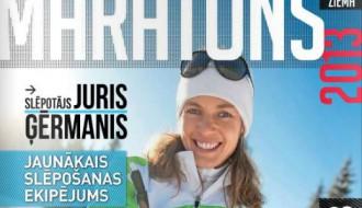 """Žurnāla """"Maratons"""" ZIEMAS numurs. Slēpotājiem un skrējējiem"""