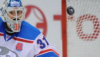 Video: Masaļskim nedēļas labākais atvairījums KHL