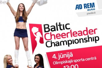 Baltijas labks karsjmeitenes sacentsies Laura Reinika vadb