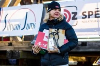 """""""Stipro skrējienā 2014"""" atkal triumfē Dauškāne, vīru konkurencē labākais Rekuņenko"""